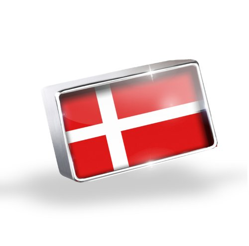 Floating Charm Denmark Flag Fits Glass Lockets, Neonblond by NEONBLOND