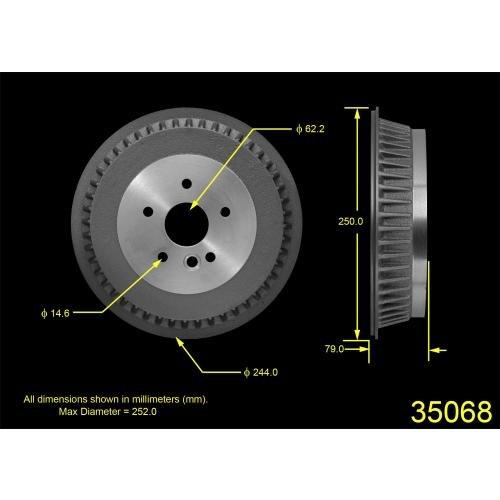 ProStop Brake Drum (35068G)