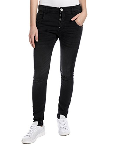 Soft Black jeans Tapered Wash Timezone Noir 9188 black soft wash