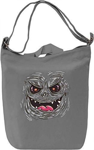 Monster Borsa Giornaliera Canvas Canvas Day Bag| 100% Premium Cotton Canvas| DTG Printing|