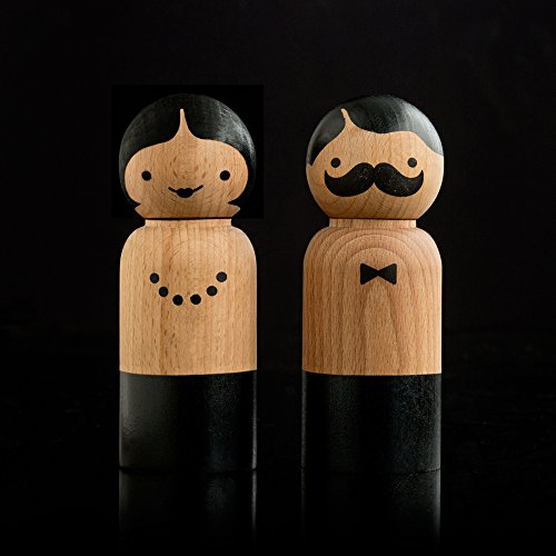 SUCK UK Mr Salt & Mrs Pepper Grinders