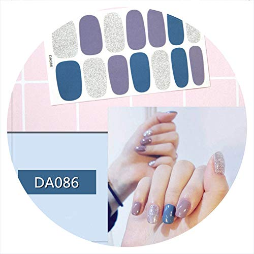 Fashion Full Cover Nail Polish Wraps Adhesive Nail Stickers Nail Art Decorations Manicure Tools Environmental For Pregnant Woman,Da086