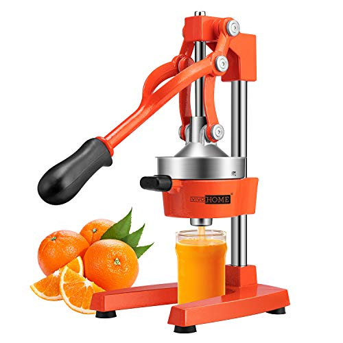 VIVOHOME Heavy Duty Commercial Manual Hand Press Citrus Orange Juicer Squeezer Machine