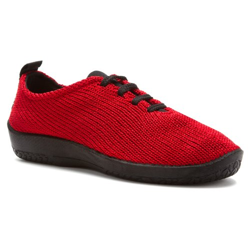 Ls 1151 Red Womens Arcopedico Shoes Fabric q4OHxxnf