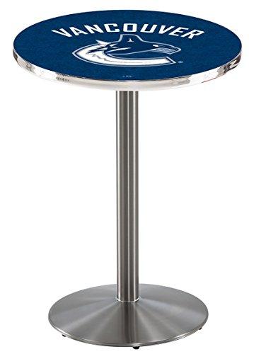 Nhl Vancouver Canucks Pub Table (Holland Bar Stool L214 NHL Vancouver Canucks Officially Licensed Pub Table, 28