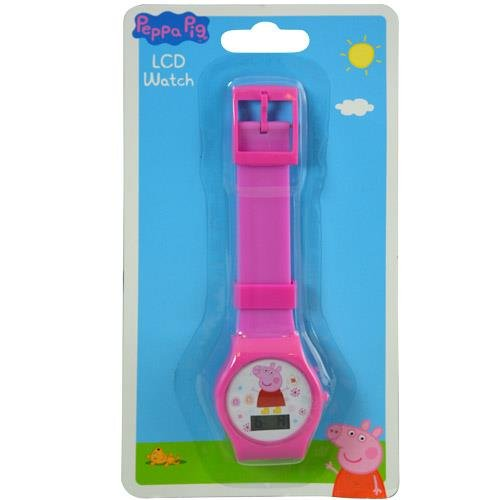 Peppa Pig Digital Watch with Printed Band on