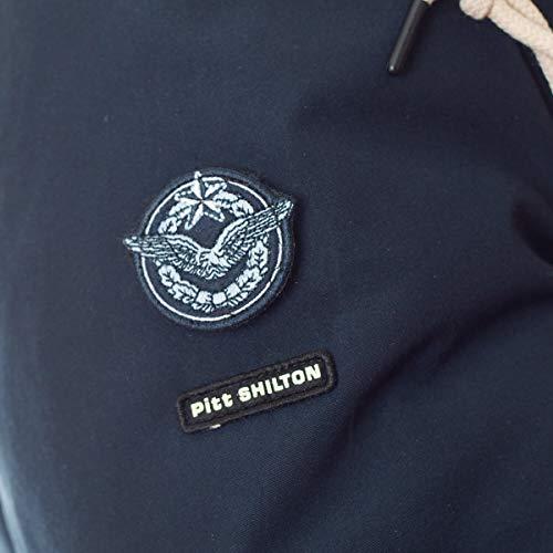 Parka Bleu Patch Shilton Shilton Marine Parka E7CqZw