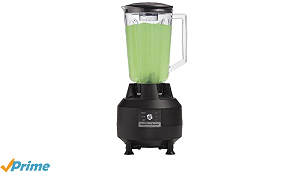 Hamilton Beach Commercial hbb908 de CE Bar Blender, Negro: Amazon ...