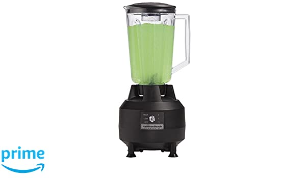 Hamilton Beach Commercial hbb908 de CE Bar Blender, Negro: Amazon.es: Industria, empresas y ciencia