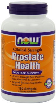 Now Foods Clinical Strength Prostate Health, Soft-gel, 180-Count , Pack of 2 Review