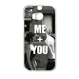 Me and you personalized high quality cell phone case for HTC M8