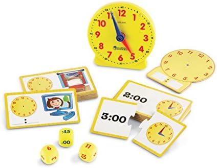 [해외]Learning Resources 시간 활동 세트 41개 / Learning Resources 시간 활동 세트 41개