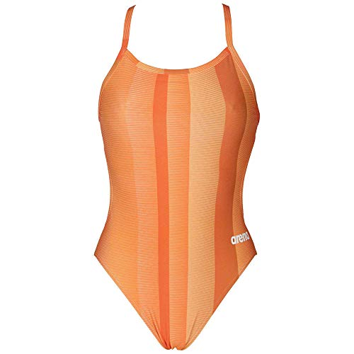 cca5f8c9ef9 Arena Blended Stripe Challenge Back - MaxLife Orange