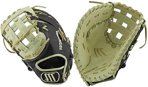 Marucci MFGFS13001B-BK/CM-LH Founders' Series Baseball Fielding Gloves, Camel/Black, 13'' by Marucci (Image #1)