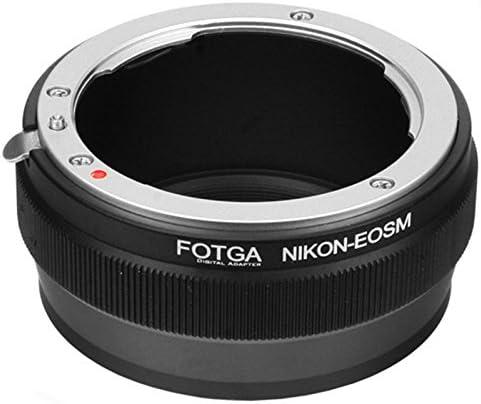Fotga Adapter For Nikon F Ai S Lens To Canon Eos M M2 Camera Photo