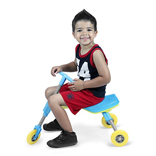 Fly Bike Foldable Indoor/Outdoor Toddlers Glide Tricycle - Blue
