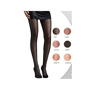 3b2b6ff81 Le Bourget Voilance Satine 15D Tights -Nude