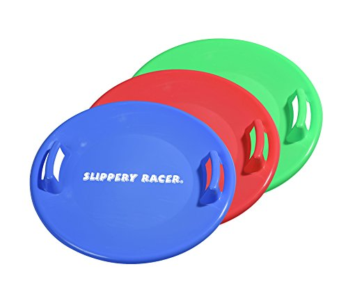 Slippery Racer Downhill Pro Saucer Disc Snow Sled