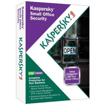 Kaspersky KOS905121 Small Office Security - Subscription Package - 1 File Server 5 PC - Standard - 1 Year - PC - Retail - CD-ROM - English - License Only
