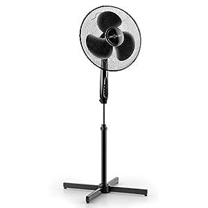oneConcept Black Blizzard großer Stand-Ventilator mit 41 cm (16) Rotorblatt...