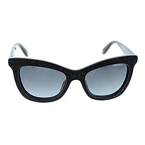 Jimmy Choo Flash Sunglasses in Black Jet FLASH/S FI7 HD 52
