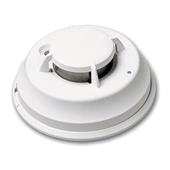 DSC FSA-410BST Wired Photoelectric Smoke Detector (4-Wire with INT on