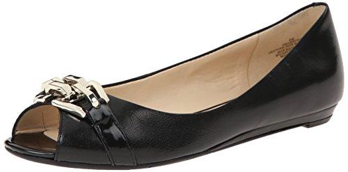 Nine West Women's Amedea Leather Ballet Flat