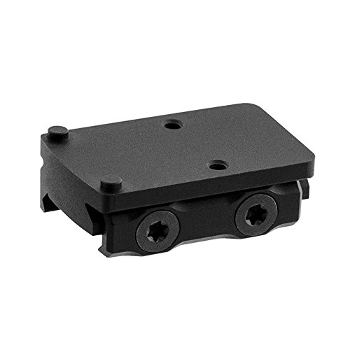 (UTG Leapers MT-RMRXS Inc Super Slim Picatinny RMR Mount, Low Profile, Black)