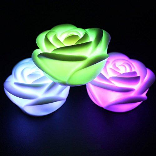 Led Color Changing Rose Shaped Light in Florida - 9
