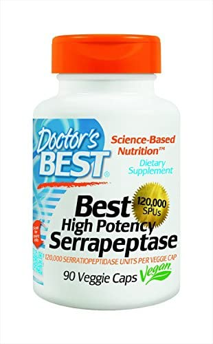 Doctors Best Serrapeptase 180 Count Doctors m4
