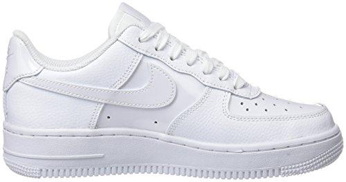 De '07 Nike Wmns Gymnastique Force Chaussures 1 blanc Blanches Air 100 Blanc 4wq5FHg