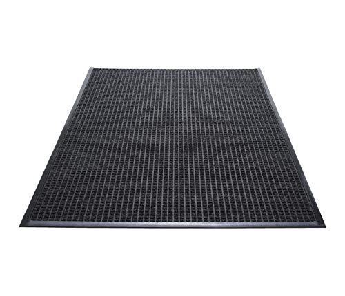 Guardian WG040604 48 x 72 Charcoal WaterGuard Indoor/Outdoor Scraper Mat, 48 x 72, Charcoal