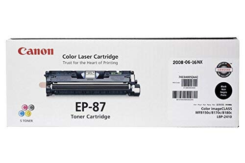 Canon Original EP-87 Toner Cartridge - Magenta
