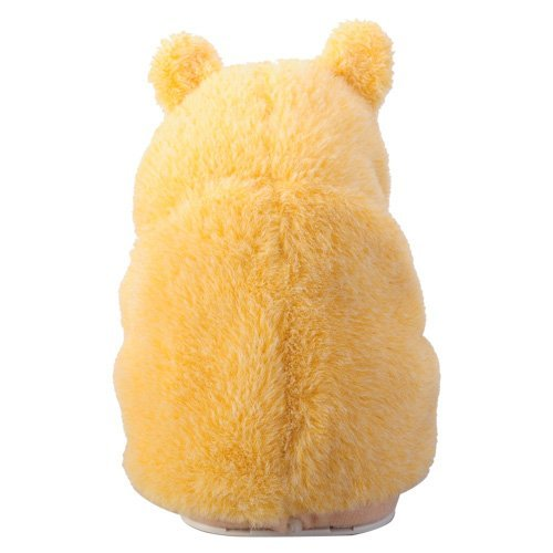 LUQUAN Cute Mimicry Pet Hamster Copy Voice Pet Talking Plush Toy Gift For Kids - Yellow