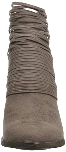 Pictures of Fergalicious Women's Wicket Ankle Bootie Brown 6