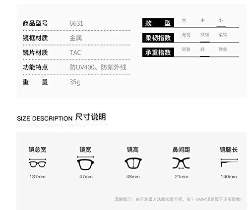 de lunettes polarisées soleil Lennon inspirées retro Feuille vintage cercle en C rond style métallique du Grise dErEq4x