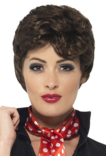 Brown Short Grease Rizzo Wig (Grease Rizzo Wig)