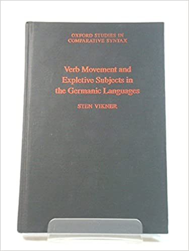Verb Movement and Expletive Subjects in the Germanic Languages
