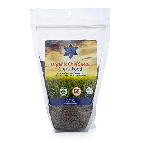 Organic Chia Seeds 16oz Raw product image