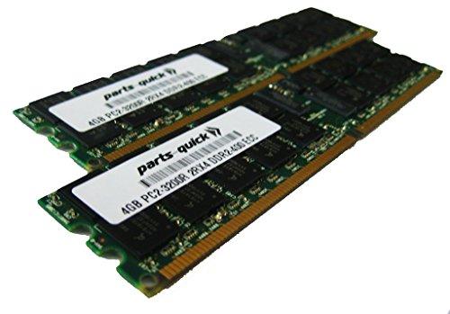 (8GB Kit 2 x 4GB Memory for Supermicro SuperBlade Module SBA-7141M-T DDR2-400 PC2-3200 ECC RDIMM (PARTS-QUICK BRAND))