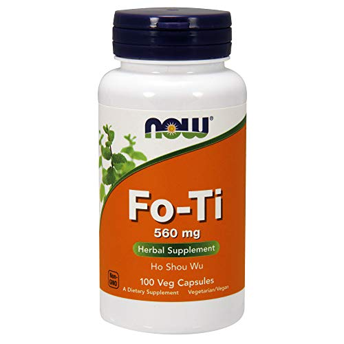 NOW Supplements, Fo-Ti (Ho Shou Wu)560 mg, 100 Veg - Capsules 100 Fo Ti Root