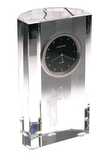 59 Caduceous Crystal Clock clear (Bluestone Crystal Clock)