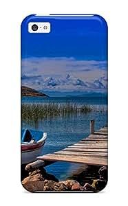 Premium Tpu Titicaca Lake Cover Skin For Iphone 5c 8104426K23370190