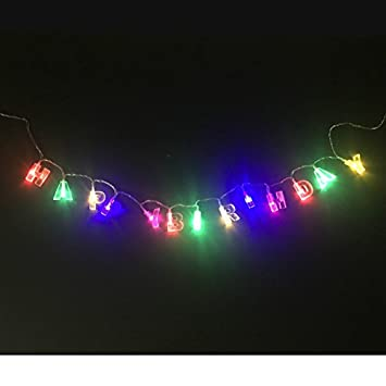 Decoarts LED String Lights QuotHappy Birthdayquot Lighted Message 3 FtIndoor Outdoor