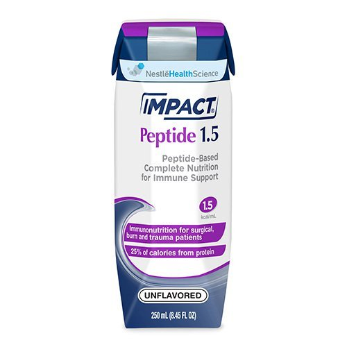 Impact Peptide 1.5 250 mL Carton Ready to Use Unflavored Adult, 10043900974009 - Case of 24 by Ensur