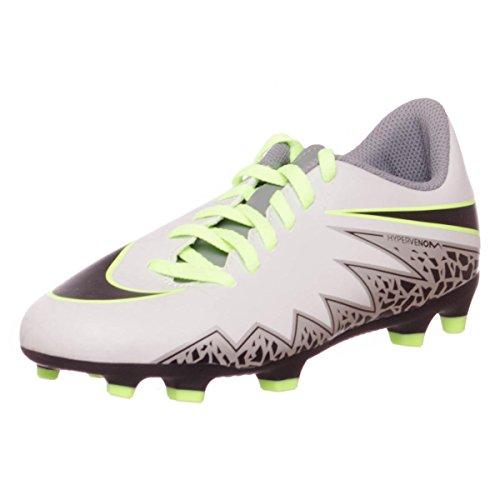 Nike Hypervenom Bambino Phade Black Plateado Da Ii Green Fg Calcio ghost Jr Scarpe Platinum pure qrC5x8qw