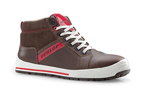 Dunlop Street Response - Botas de protección laboral S3 SRC, talla 44, color marrón