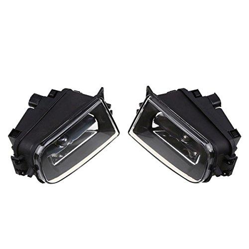 E39 Front Fog Lights Lamps Left & Right Fog Lights Set Kit For BMW 5 Series BMW E39 Sedan 1995-2000 (E39 Face Lift)