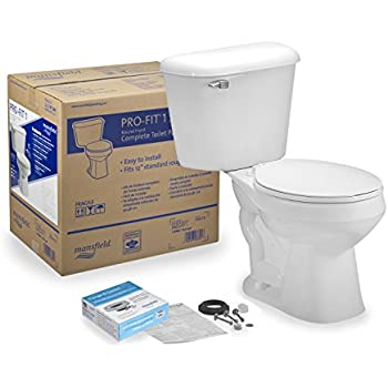 Mansfield Plumbing Products 137ctk Profit3 Toilet Bx Kit