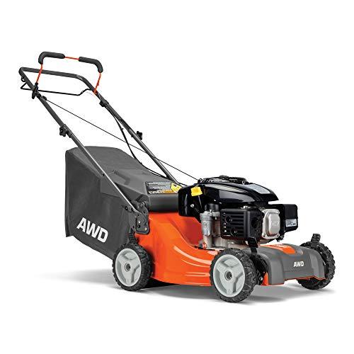 Husqvarna L221AK Lawn Mowers, Orange/Gray